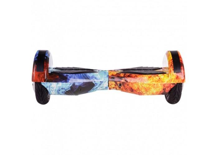 """Гироборд Elite Lux Lambo Premium +Autobalance 8"""" Лед и пламя"""