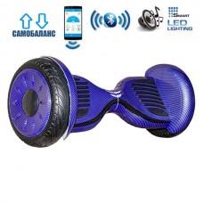 "Гироборд Smart Balance Wheel U20 Premium +Autobalance +Арр 10.5"" Синий карбон"