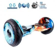 """Гироборд Smart Balance Wheel U20 Pro +Autobalance 10.5"""" Огонь и лед"""